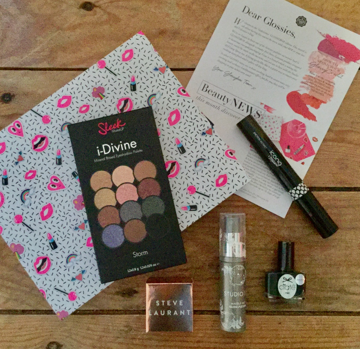 February Glossybox – What's in it?…