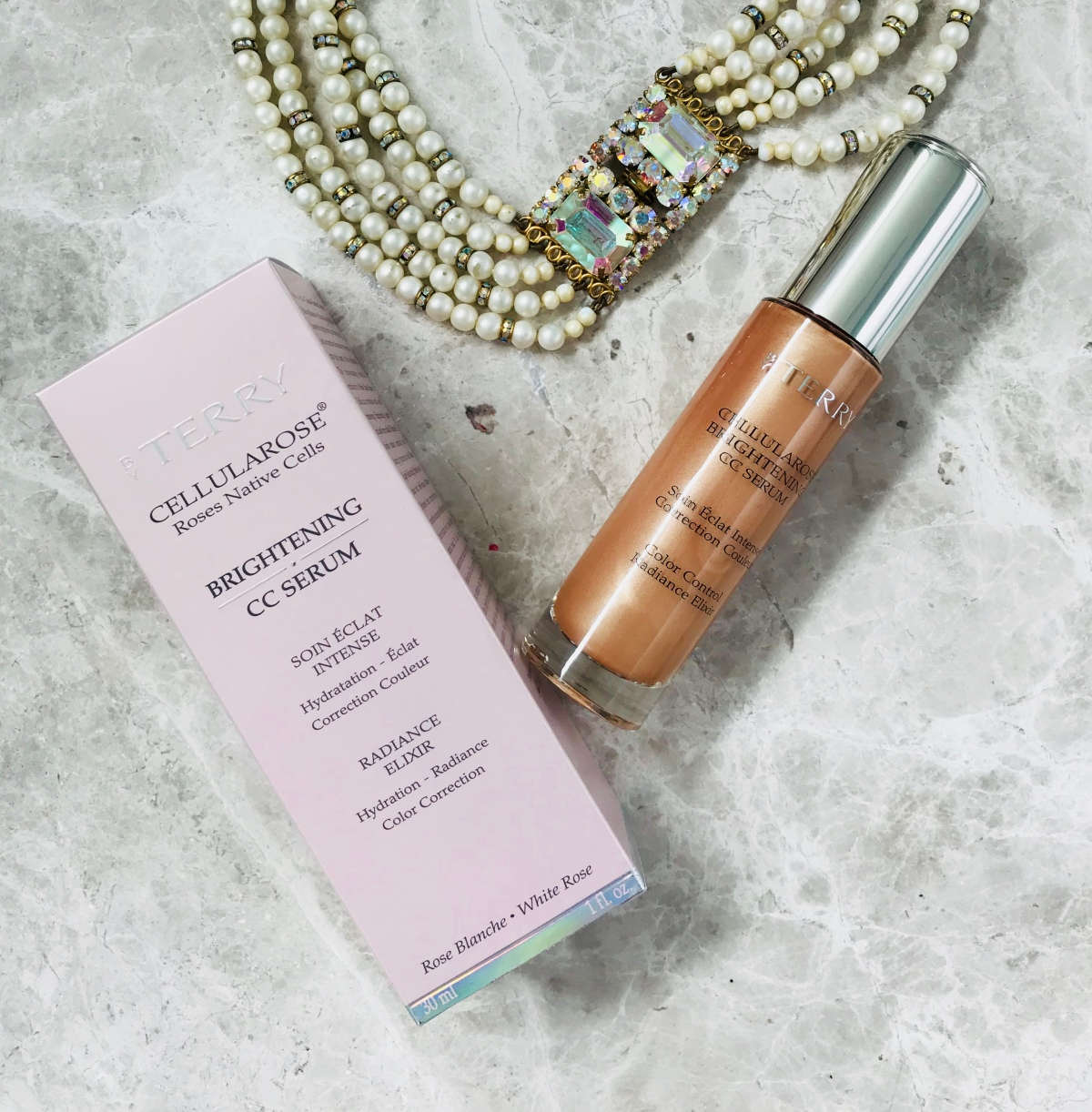 By Terry Cellularose Brightening CC Serum and Beauty Pie Great Skin Foundation ….