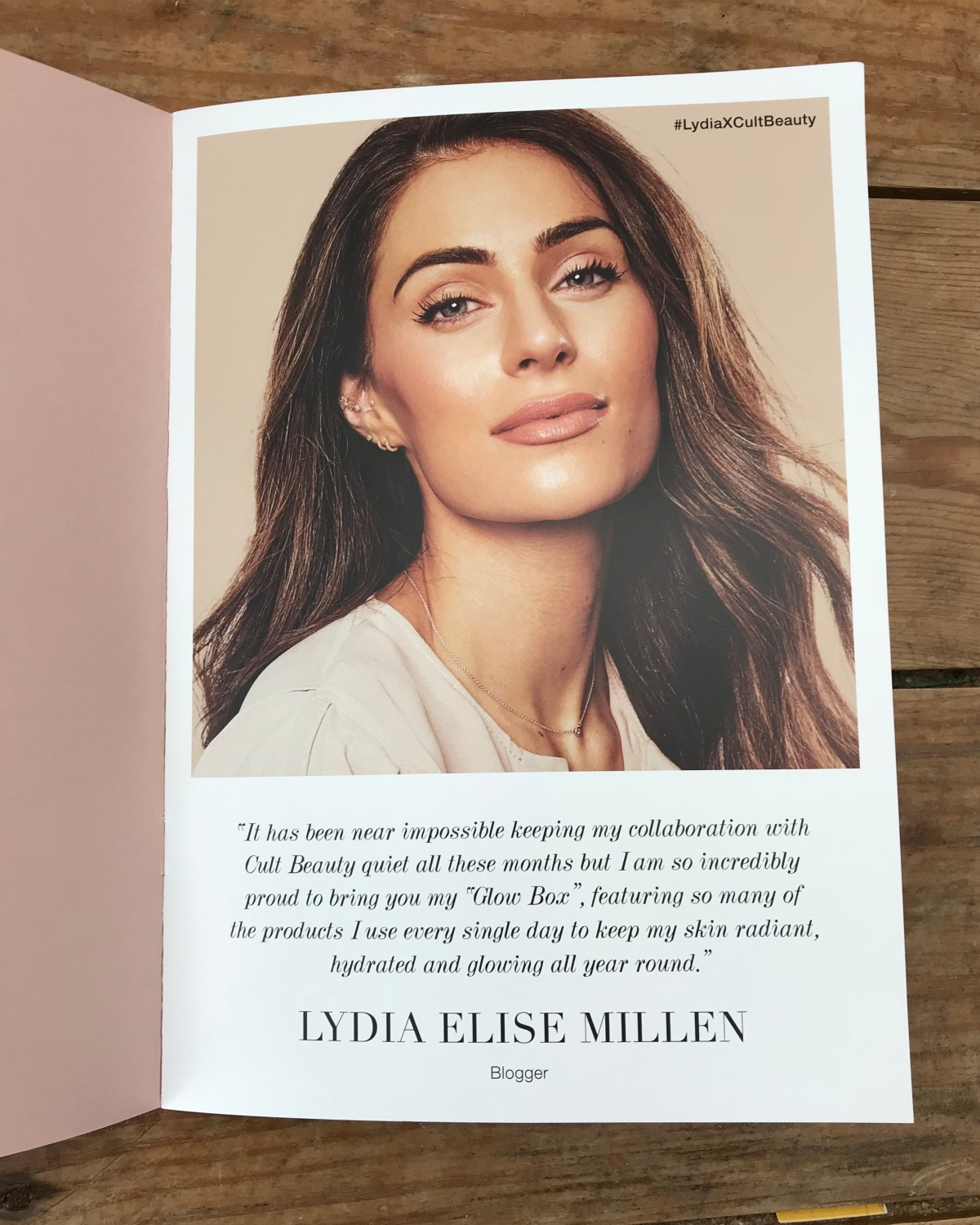 Cult Beauty Box by Lydia Elise Millen